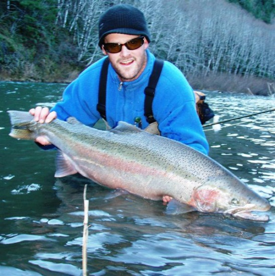 Black heron fly fishing longview washington for Wilson river fishing report